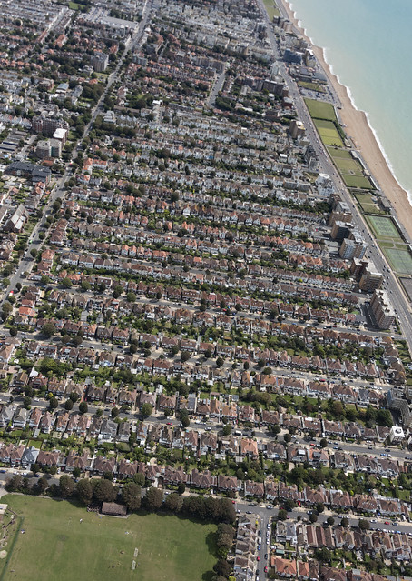 Hove Homes Aerial Image