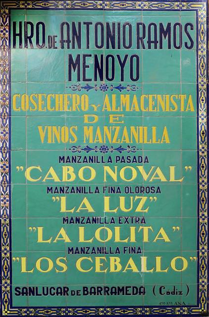 Sevilla - Mosaico azulejos Bar el Rinconcillo