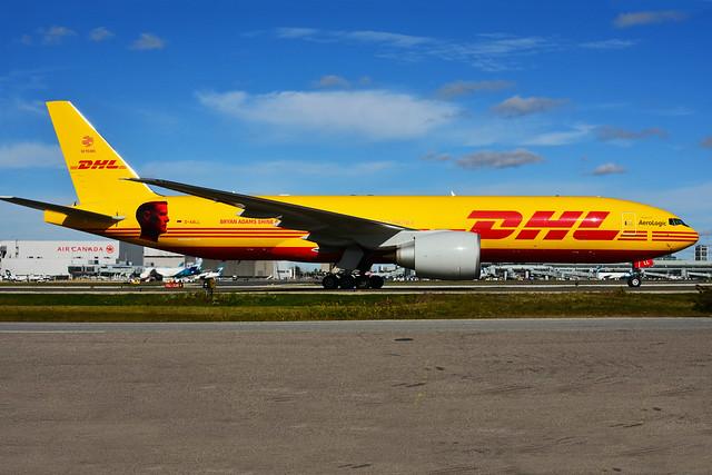 D-AALL (DHL  (Aerologic - Bryan Adams)