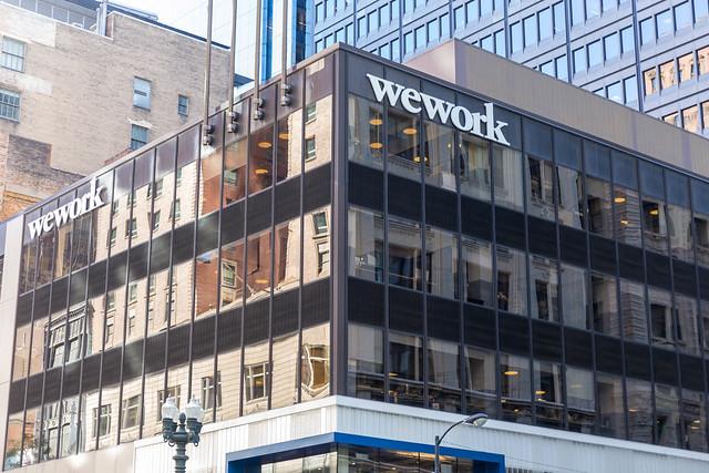 WeWork Coworking und Bürogebäude in Downtown Chicago