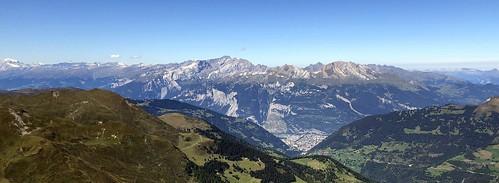 weisshorn aroserweisshorn switzerland arosa graubünden grisons alps alpen swissalps mountains rhinevalley landscape scenery chur beautifulview iphone peterch51 panorama pano