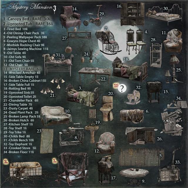Mystery Mansion 3 Gacha KEY