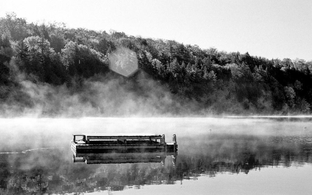 Misty Waters on Bella Lake