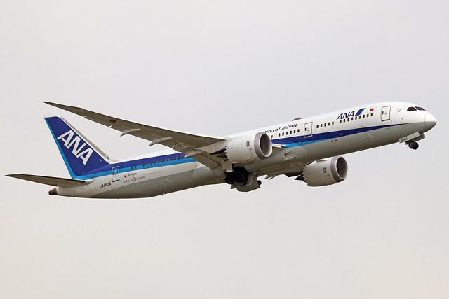 JA883A  -  Boeing 787-9 Dreamliner  -  All Nippon Airlines  -  NRT/RJAA 8/10/19