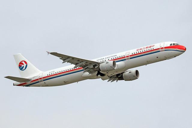 B-6331  -  Airbus A321-211  -  China Eastern  -  NRT/RJAA 8/10/19