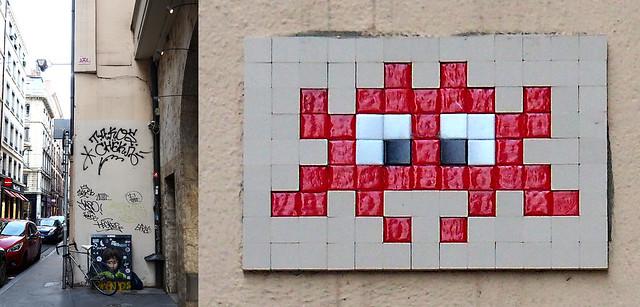 Space invader [Lyon, France]