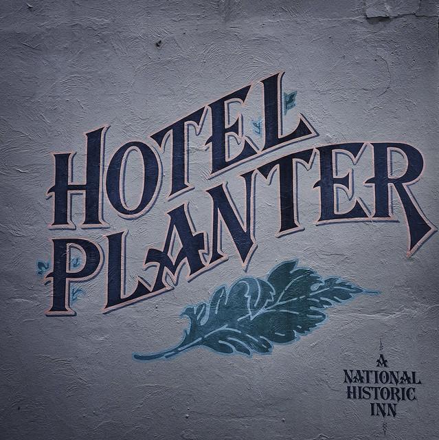 Hotel Planter Wall