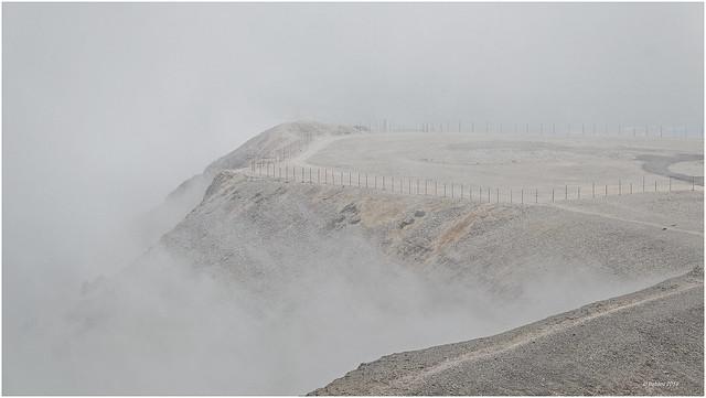 Mont Ventoux...von Wolken umhüllt