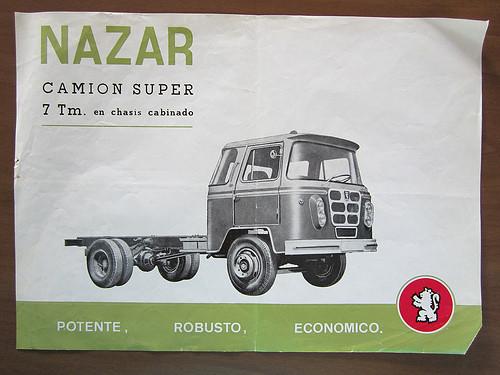 catàleg camió Nazar B 7 Tm caracterídtiques