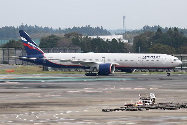 VP-BGB  -  Boeing 777-3M0(ER)  -  Aeroflot  -  NRT/RJAA 8/10/19