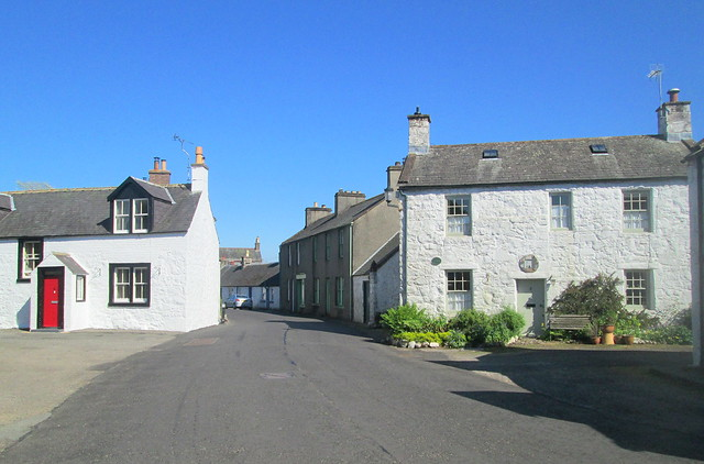 New Abbey houses, Dumfries and Galloway