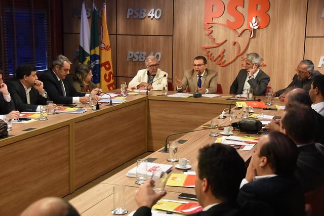 Reunião com presidentes estaduais sobre autorreforma - 14/10/2019