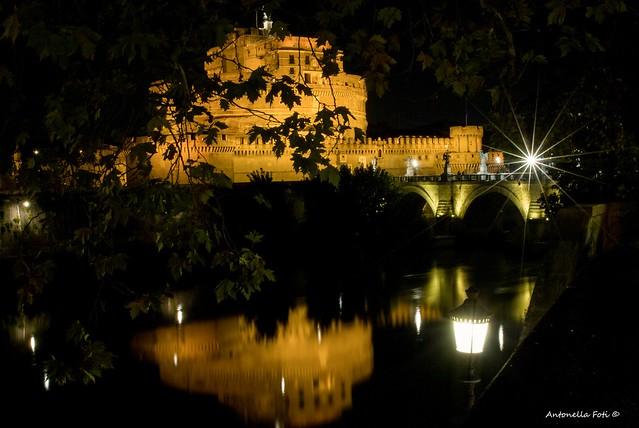 Magic night in Rome (Castel Sant'Angelo - Rome - Italy)