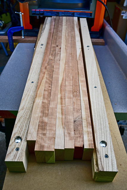 Final Edge Trim on Tennessee Cherry for Custom Picture Frames