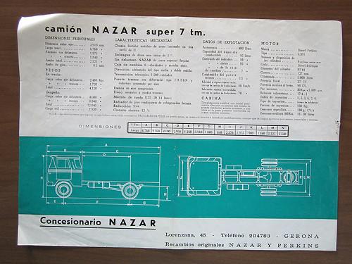 catàleg camió Nazar B 7 Tm