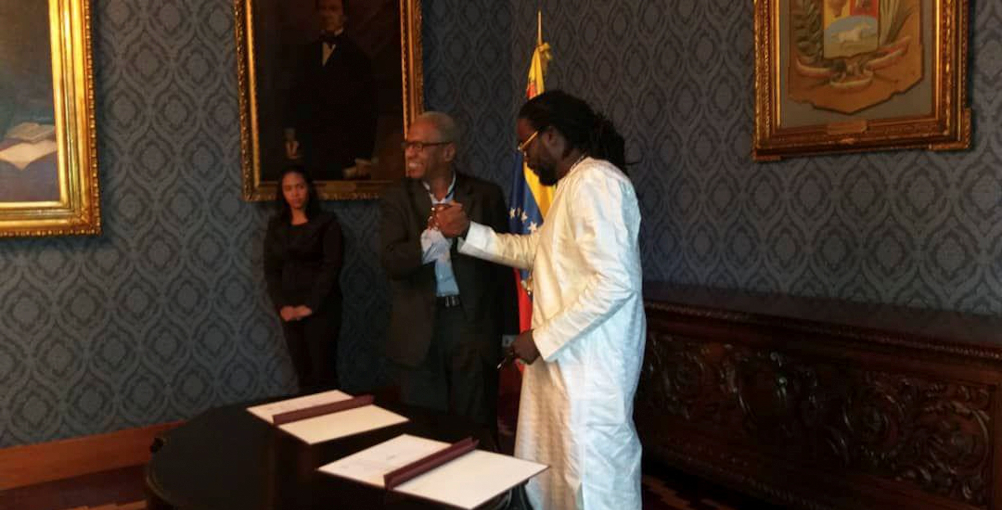 Organización Sonidos de África y Fundación Grupo Madera estrechan lazos de cooperación