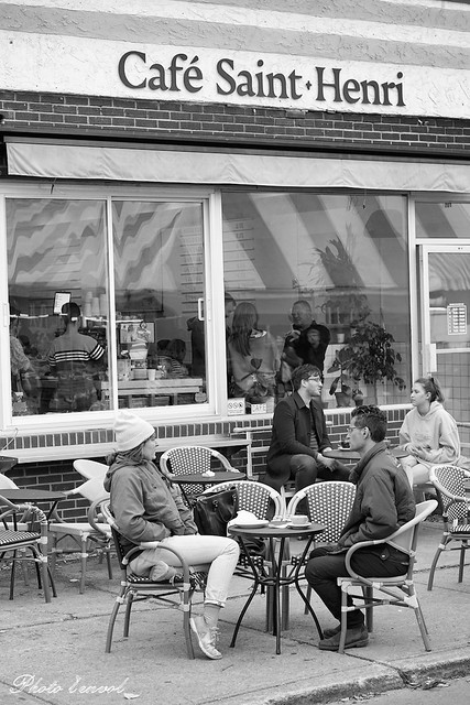 Café Saint-Henri, marché Jean-Talon