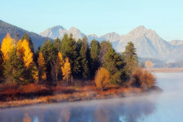 Morning Fog on the River