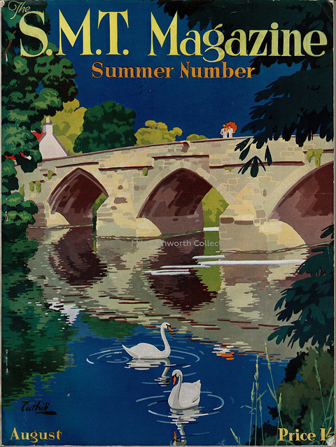 SMT Magazine - Summer Number August 1935, illustrated by Cuthill