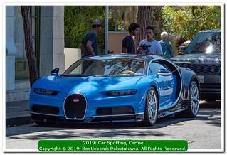 2019 Car Spotting, Carmel: Bugatti