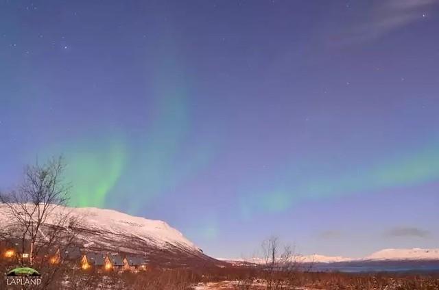 Abisko National Park Cam, Lapland, Sweden 14-10-2019 23:10 Aurora borealis
