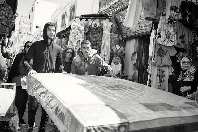Mattress delivery, Essaouira
