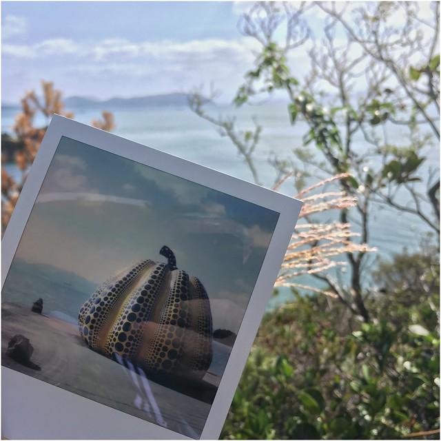 Instant Memories ... Yayoi Kusama at Naoshima Island, Japan
