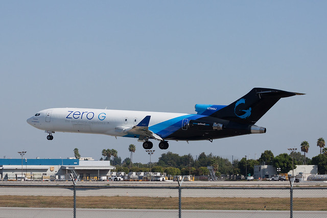 Zero Gravity Corporation (Everts Air Cargo) Boeing 727-200/Adv(F) N794AJ