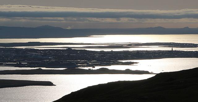 Reykjavík af Esju