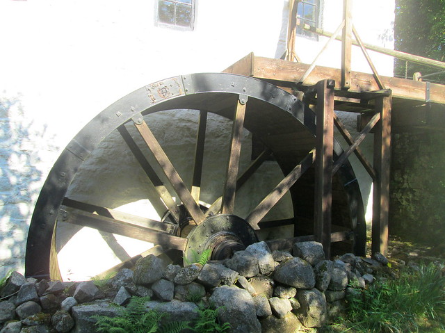 Mill Wheel, New Abbey, Dumfries and Galloway