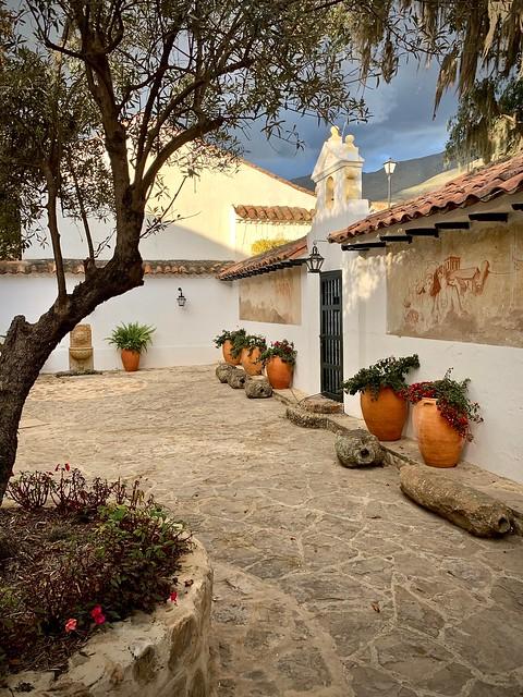 Courtyard, Villa de Leyva
