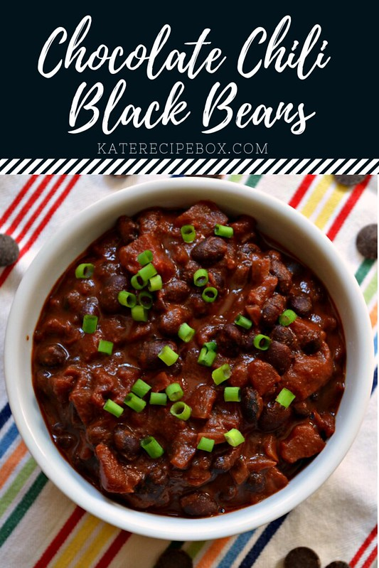 Chocolate Chili Black Beans