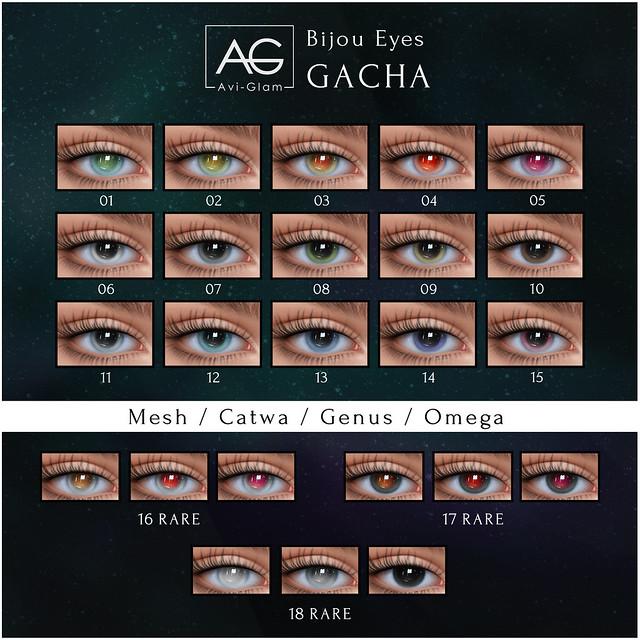 AG. Bijou Eyes Gacha