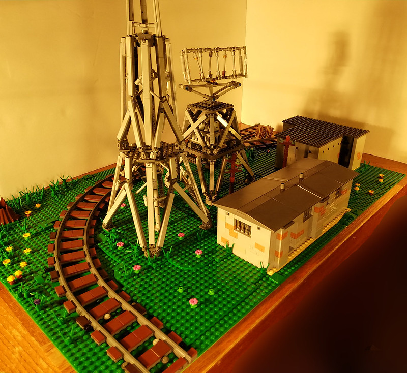 The first and only Lego Chain Home Low Station (AMES Type 2)