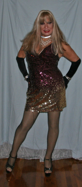 Club dress.. and ready to party on a Monday Night!