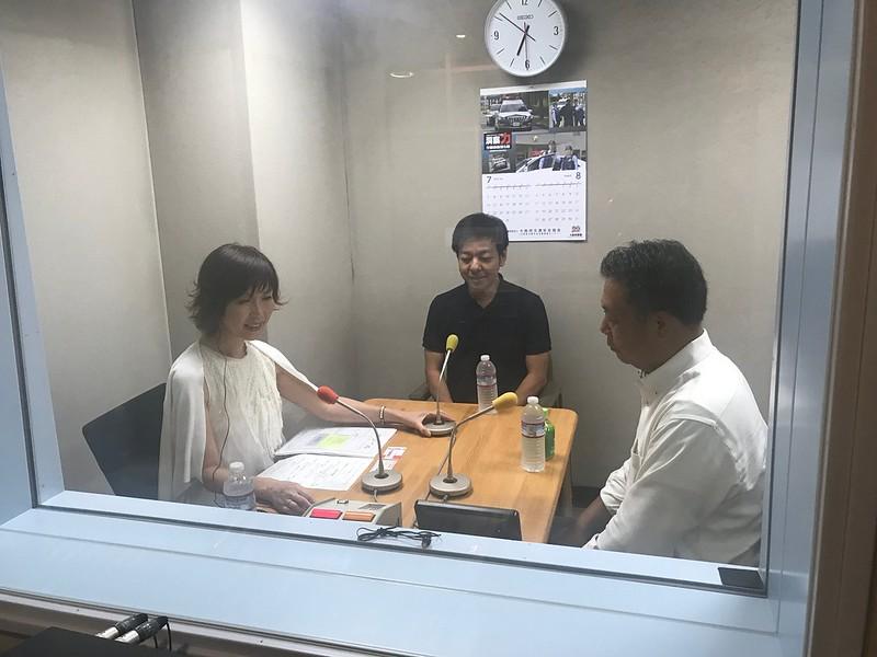 OBCラジオ大阪 「ラジベル」にて、心學塾の紹介をしていただきました!