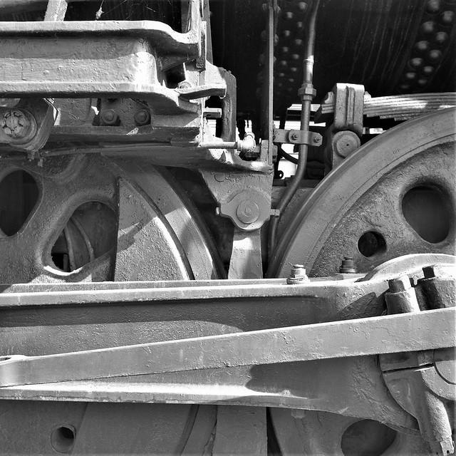 Steam Locomotive Detail, Old Town Sacramento