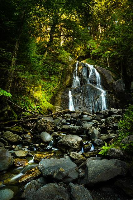 Moss Glen Falls - Explore