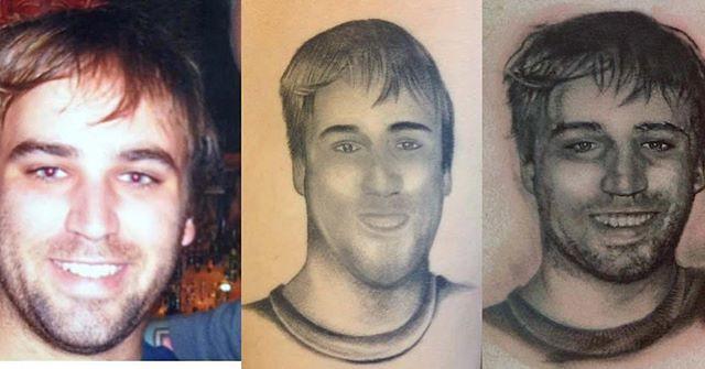 Portrait Repair Tattoo
