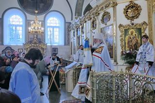 14.10.2019 | Престольный праздник в Покровском соборе