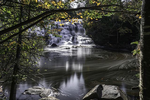 Bond Falls on the Ontonagon River in Ontonagon County in Michigan's U.P.