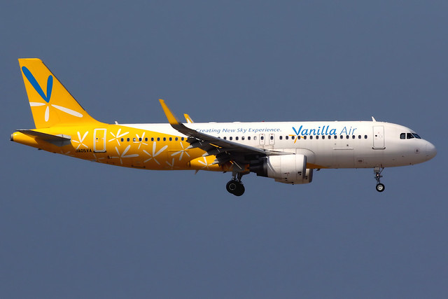 Vanilla Air   Airbus A320-200   JA05VA   Hong Kong International