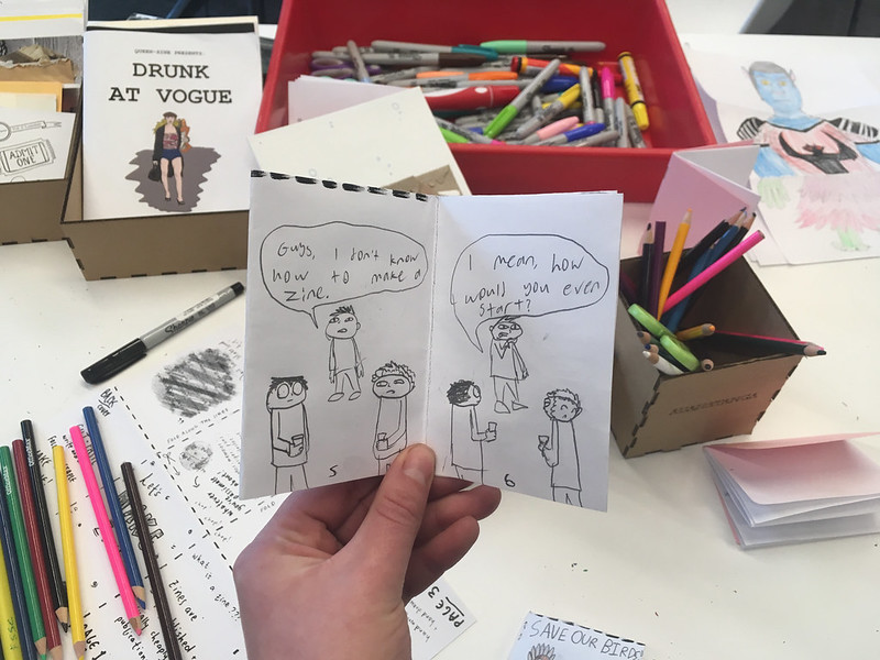 Zinefest workshop