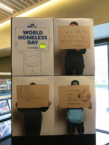 World Homeless Day at the Green Connection Pod