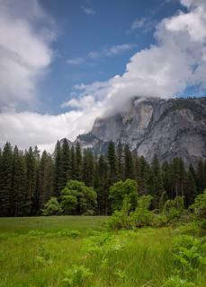 Yosemite Crown of Clouds