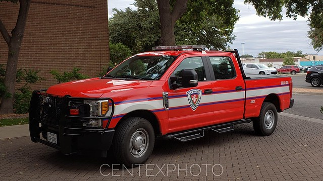 San Angelo, TX Fire Department Squad 1 Ford F-250
