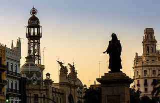 Early morning silhouettes - Valencia, Spain | by Phil Marion (187 million views - THANKS)