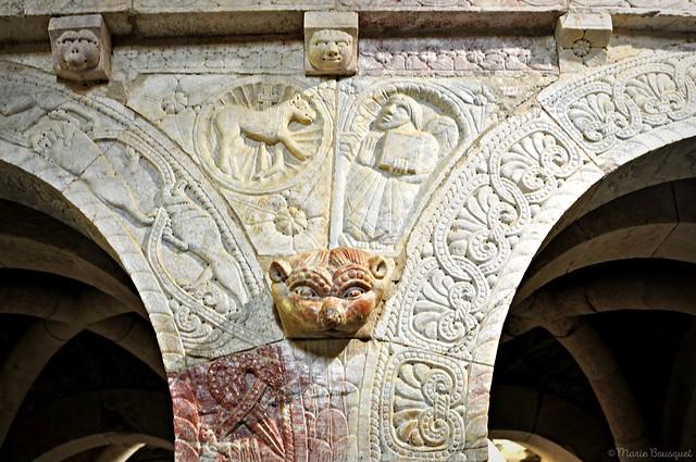 L'agneau divin et Saint-Mathieu