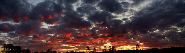 October  Sun Set