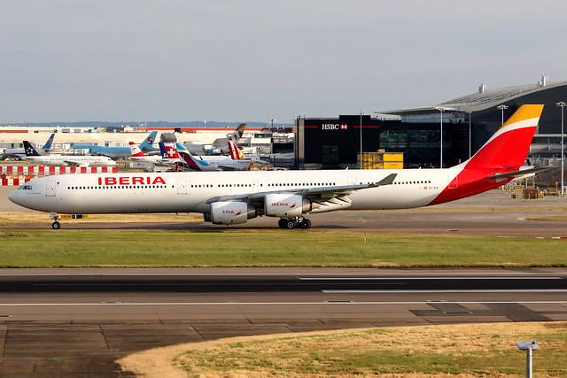 Iberia   Airbus A340-600   EC-KZI   London Heathrow